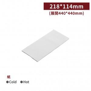 現貨【白色餐巾紙】雙層 口布紙 40*40cm -1箱1000張/1包100張