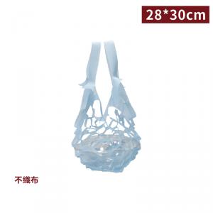 追加中,7月中到貨【隨行布網袋 - 便當袋(藍)】28*30cm 便當袋 提袋 - 1箱2000個 / 1包100個