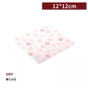 一週出貨【OPP包裝襯紙 - 櫻花】12*12cm 點心紙 包裝紙 - 1箱20000個