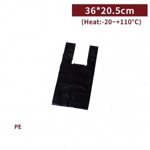 新品現貨【半斤背心袋 - 黑】36*20.5cm 塑膠袋 咪咪袋 市場袋 便當袋 - 1箱100包 / 一組10包
