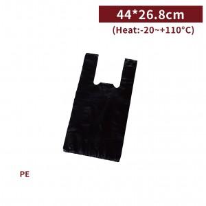新品現貨【二斤背心袋 - 黑】44*26.8cm 塑膠袋 咪咪袋 市場袋 便當袋 - 1箱100包 / 一組10包
