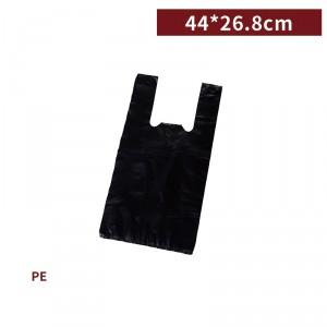 新品一週出貨【二斤背心袋 - 黑】44*26.8cm 塑膠袋 咪咪袋 市場袋 便當袋 - 1箱100包 / 一組10包
