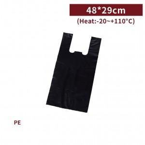新品現貨【三斤背心袋 - 黑】48*29cm 塑膠袋 咪咪袋 市場袋 便當袋 - 1箱100包 / 一組10包