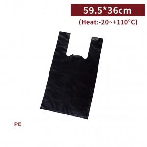 新品現貨【五斤背心袋 - 黑】59.5*36cm 塑膠袋 咪咪袋 市場袋 便當袋 - 1箱50包 / 一組10包