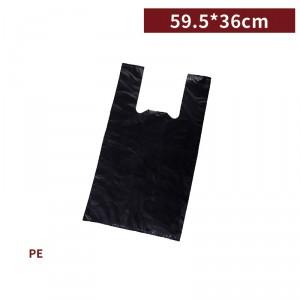 新品一週出貨【五斤背心袋 - 黑】59.5*36cm 塑膠袋 咪咪袋 市場袋 便當袋 - 1箱50包 / 一組10包