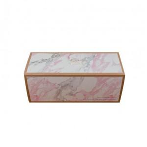 預購【抽屜式瑞士捲盒(小)-大理石(含內襯,不含紙袋)】餅乾盒 / 生乳捲盒- 1箱200個