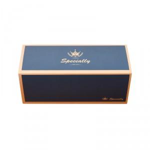 預購【抽屜式瑞士捲盒(大)-英倫藍(含內襯,不含紙袋)】餅乾盒 / 生乳捲盒- 1箱200個