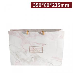 預購【精緻手提袋(窄)-大理石】禮盒提袋 / 手提紙袋- 1箱200個