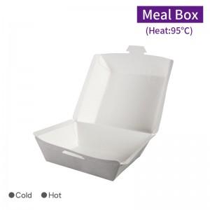 【自扣式漢堡盒-白色】 - 1箱1000個/1條100個