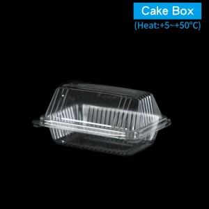 【OPS自扣式山型蛋糕盒-透明(小)】防霧塑膠  - 1箱1800個/1條100個