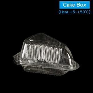 【OPS自扣式切片蛋糕盒-透明】三角 防霧塑膠  - 1箱2400個/1條100個