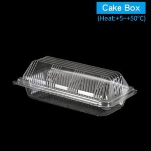 【OPS自扣式山型蛋糕盒-透明(大)】防霧塑膠  - 1箱1800個/1條100個