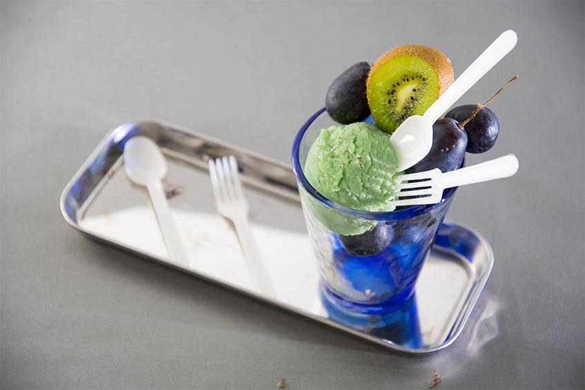 100*23mm PLA(Polylactic Acid)聚乳酸材質 玉米塑膠 環保塑膠 塑膠湯匙 免洗湯匙 拋棄式湯匙 一次性餐具