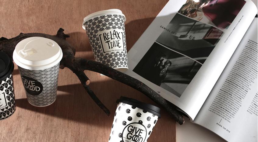 幾何黑白杯 12oz 360ml 90口徑 115mm 14款 冷熱共用杯 防油杯 防水杯 PE雙面淋膜 內外淋膜 紙杯 咖啡紙杯 外帶紙杯 飲料杯 免洗杯 外帶杯 一次性紙杯 早餐店 飲料店 專用杯 派對杯 relaxtime givegood v690 杯蓋 帶蓋 設計款 獨家 時尚 質感