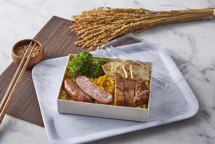 方型木餐盒 長方形 (含蓋)  餐盒 木製  木盒  含蓋  免洗 衛生 便當 外帶 外送 外賣防疫 一次性 外帶餐盒 便當盒 精緻餐盒 點心盒 輕食盒 摺疊 折疊