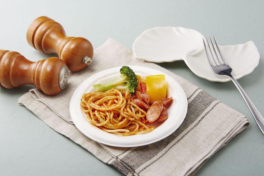 白色 圓盤 免洗盤 紙盤 點心盤 餐盤 免洗餐具
